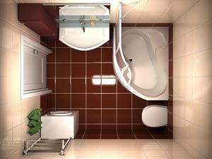 мебель и сантехника в ванной
