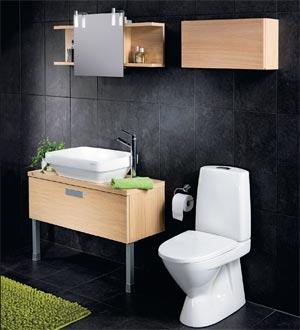 Раковина для ванной, унитаз компакт, мебель для ванны